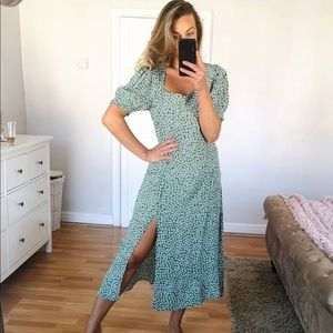 NWT H & M Dress with thigh slit